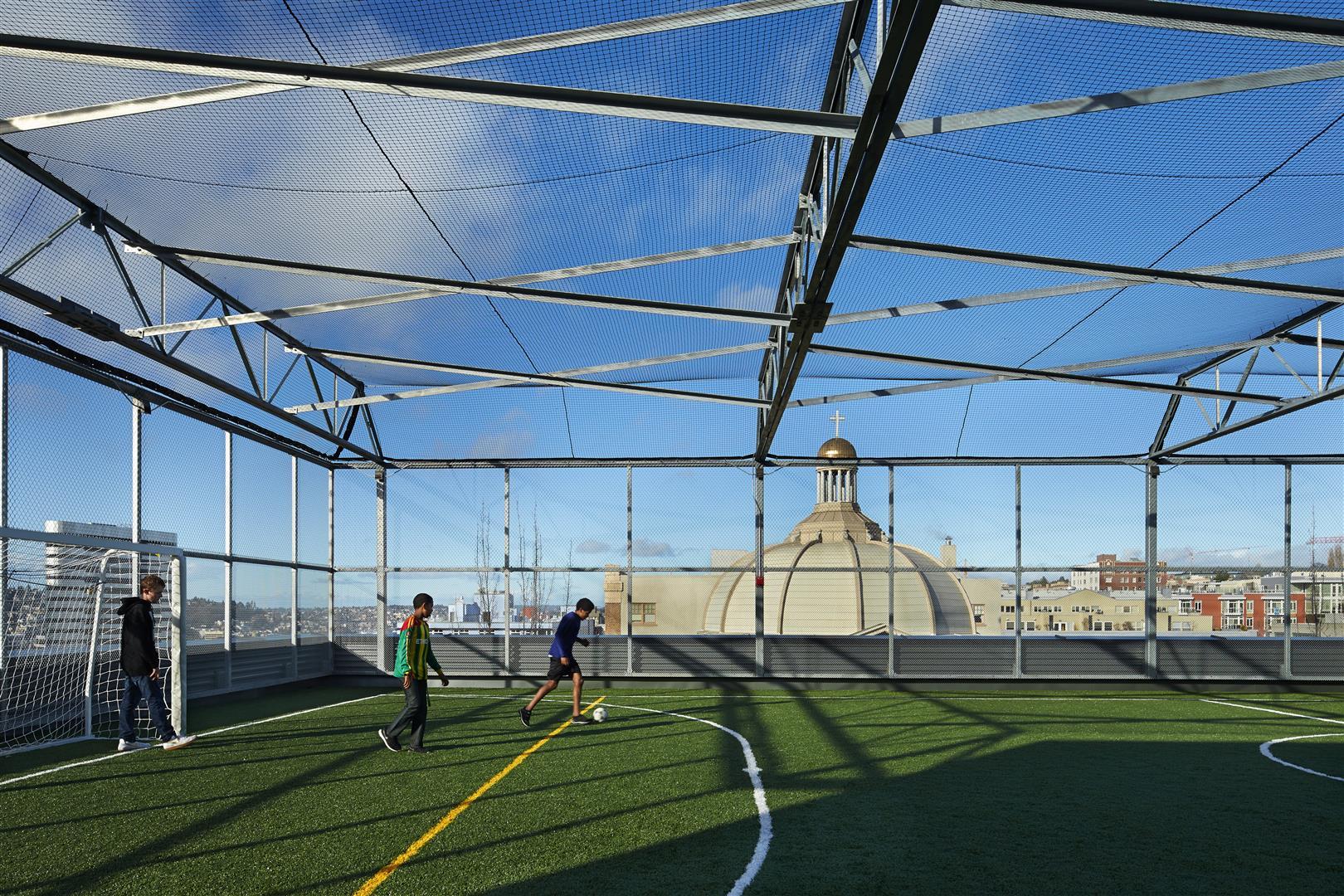 Rooftop Sports Field